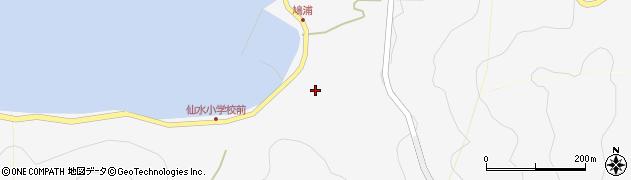 大分県津久見市四浦1674周辺の地図