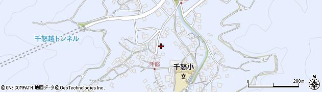 大分県津久見市千怒1518周辺の地図