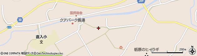 大分県竹田市直入町大字長湯3052周辺の地図