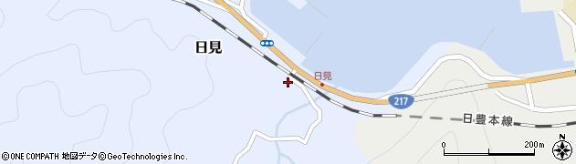 大分県津久見市日見1524周辺の地図