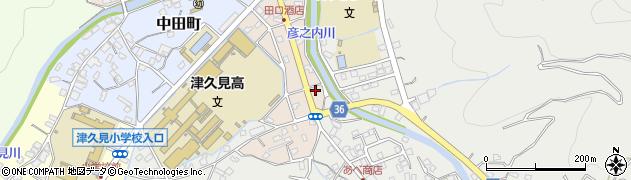 大分県津久見市文京町5周辺の地図
