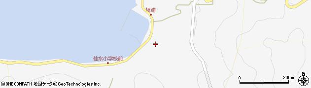 大分県津久見市四浦1548周辺の地図