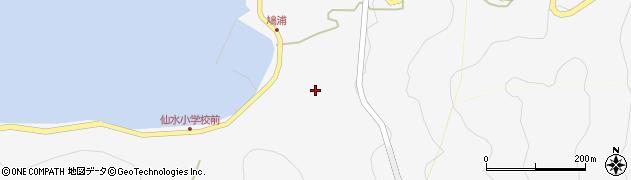 大分県津久見市四浦1632周辺の地図