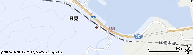 大分県津久見市日見1487周辺の地図