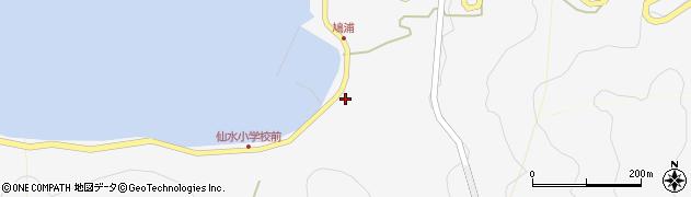 大分県津久見市四浦1546周辺の地図