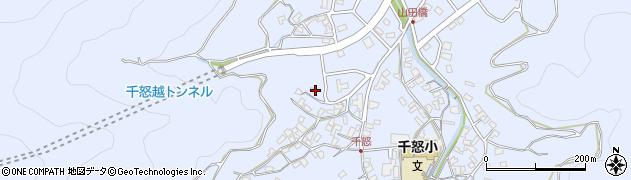 大分県津久見市千怒1166周辺の地図