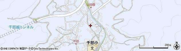 大分県津久見市千怒1335周辺の地図