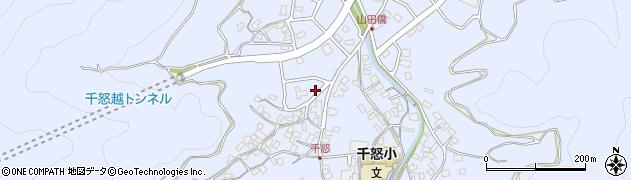 大分県津久見市千怒7016周辺の地図