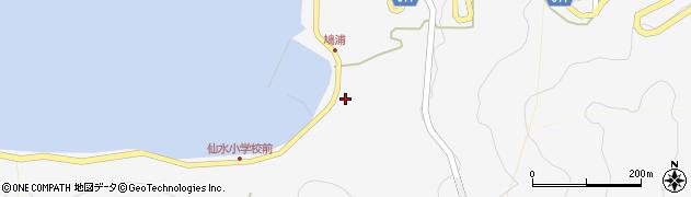 大分県津久見市四浦1603周辺の地図