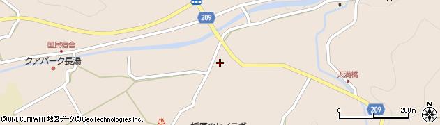 大分県竹田市直入町大字長湯2957周辺の地図