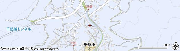 大分県津久見市千怒1337周辺の地図