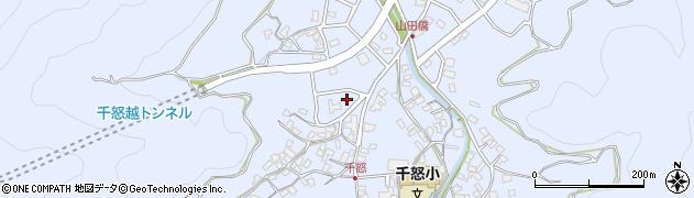 大分県津久見市千怒7019周辺の地図