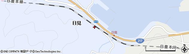 大分県津久見市日見1460周辺の地図