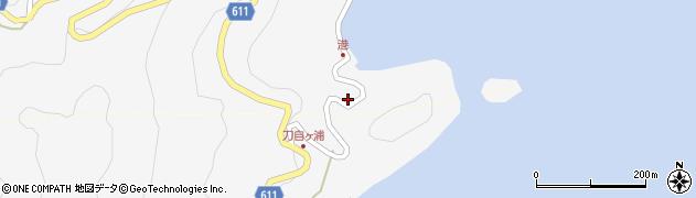 大分県津久見市四浦2505周辺の地図