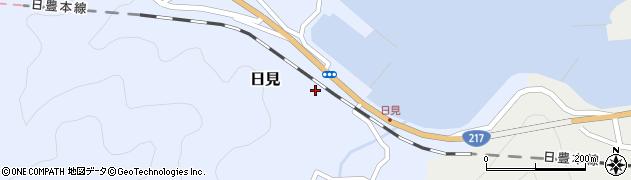 大分県津久見市日見1462周辺の地図