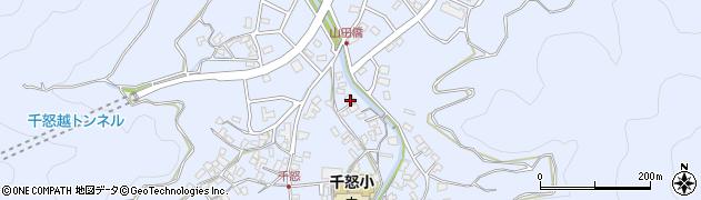 大分県津久見市千怒1330周辺の地図