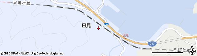 大分県津久見市日見1464周辺の地図