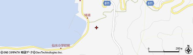 大分県津久見市四浦1612周辺の地図