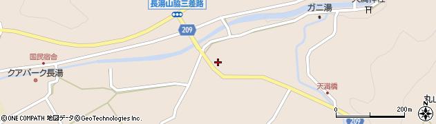 大分県竹田市直入町大字長湯2961周辺の地図