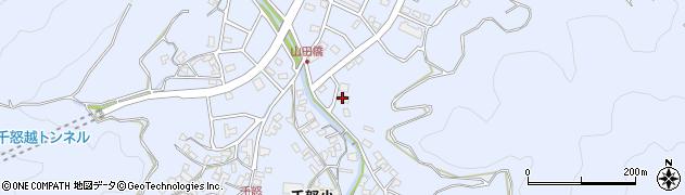 大分県津久見市千怒7263周辺の地図