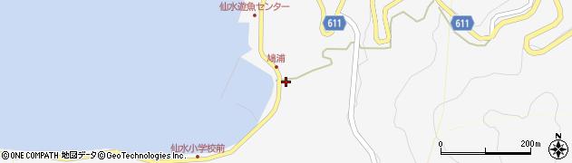 大分県津久見市四浦1562周辺の地図