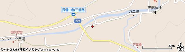 大分県竹田市直入町大字長湯2962周辺の地図