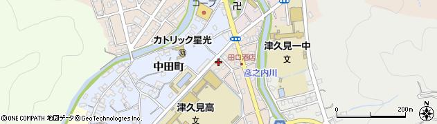 大分県津久見市文京町11周辺の地図