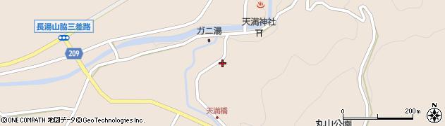 大分県竹田市直入町大字長湯7770周辺の地図