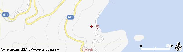 大分県津久見市四浦2473周辺の地図