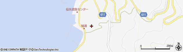 大分県津久見市四浦1573周辺の地図