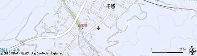 大分県津久見市千怒7273周辺の地図