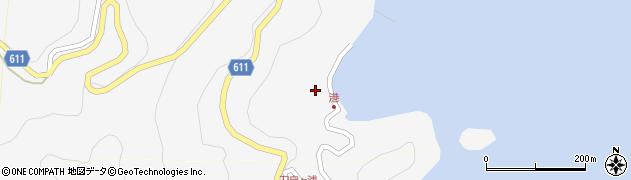 大分県津久見市四浦2429周辺の地図