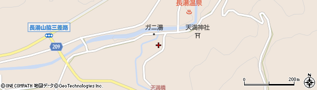 大分県竹田市直入町大字長湯7715周辺の地図
