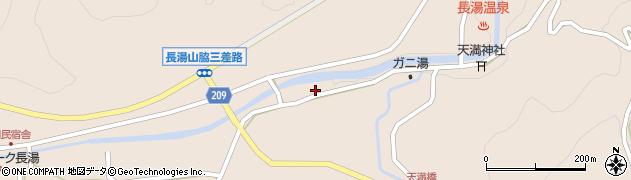 大分県竹田市直入町大字長湯7676周辺の地図