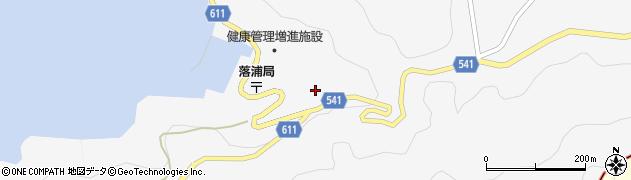大分県津久見市四浦3801周辺の地図
