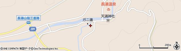 大分県竹田市直入町大字長湯7704周辺の地図