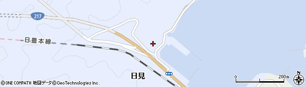大分県津久見市日見1130周辺の地図