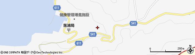 大分県津久見市四浦3886周辺の地図