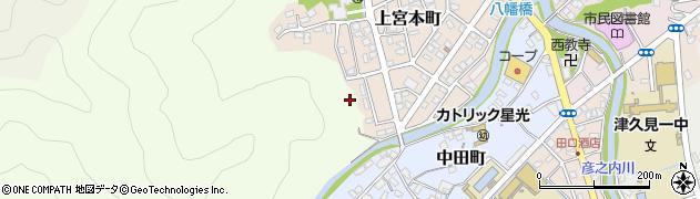 大分県津久見市上宮本町15周辺の地図