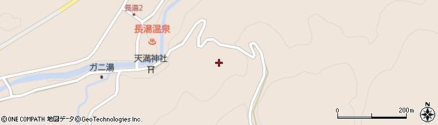 大分県竹田市直入町大字長湯7800周辺の地図