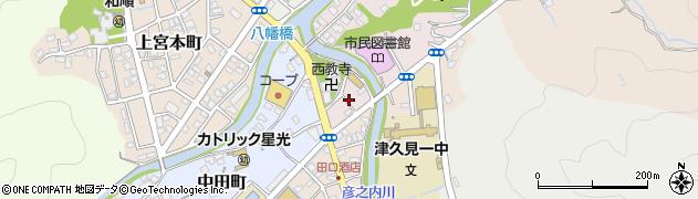 大分県津久見市大友町4周辺の地図