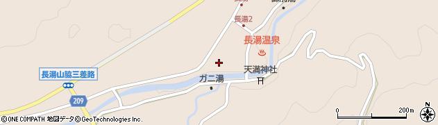 大分県竹田市直入町大字長湯8600周辺の地図