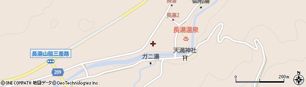 大分県竹田市直入町大字長湯8015周辺の地図