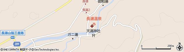 大分県竹田市直入町大字長湯7991周辺の地図