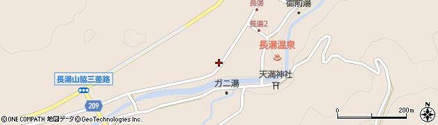 大分県竹田市直入町大字長湯8016周辺の地図