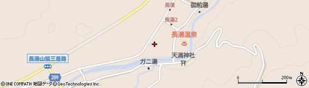 大分県竹田市直入町大字長湯8014周辺の地図