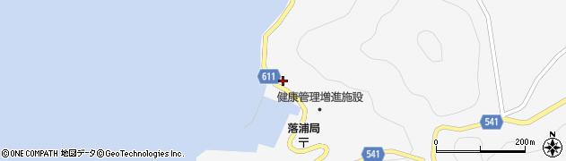 大分県津久見市四浦3968周辺の地図