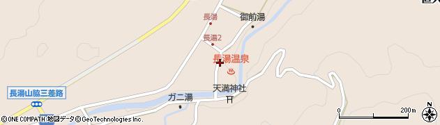 大分県竹田市直入町大字長湯7988周辺の地図