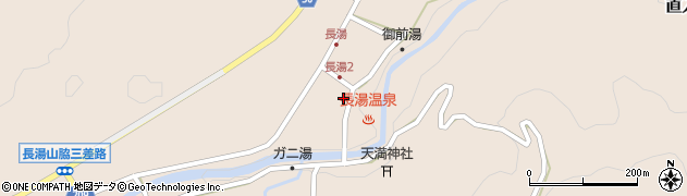 大分県竹田市直入町大字長湯8004周辺の地図