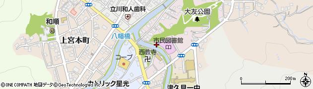 大分県津久見市大友町5周辺の地図
